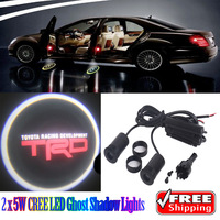 2 x 5W Car LED Ghost Shadow Lights for TRD Toyota Racing Development