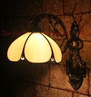 Tiffany Style Stained Glass Wall Lamp Manually Restoring Ancient Ways Chimney Corridor Sitting Room Adornment Lamps And Lanterns