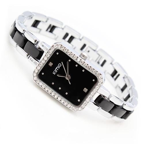 Special Seckill genuine KIMIO fashion watch Korean Fashion Square Watch Bracelet Watch Vintage wristwatch