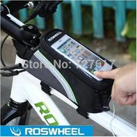 4.8 inch ! Waterproof roswheel Outdoor cycling bicycle bike saddle pouch frame handlebar bag MTB Bike Bicycle bag PVC 4.8''