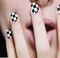 5pcs nail art 3D nail stickers lattice models nail beauty tools
