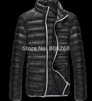 Free shipping men down cotton jacket men's fall and winter weatherization cotton down coat men outerwear
