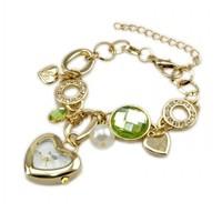 2014 New Heart Decoration Lady Dress Watches Wristwatch For Women 85990