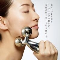 Sliver Platinum Electronic Roller Refa CARAT MTG PEC-L1706 Facial & Full Body Massager Skin Care Machine