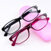 Free Shipping High Quality Eyewear Plastic Eyeglasses Fashion Elegant Women Reading Glasses +2.00 +2.50+3.00 T3370