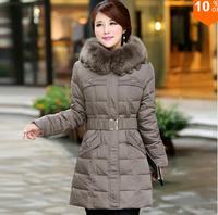 Winter Jacket Women 2014 Winter Coat Women Parkas Luxury Fur Coat Plus size Cotton-Padded Down Coats Women Wadded Jackets