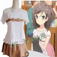 Free shipping  Hentai Ouji to Warawanai Neko cos  Tsutsukakushi Tsukiko cosplay clothes Dating clothing