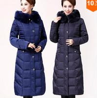 Winter Jacket Women 2014 Plus Size 5XL Winter Coat Women Rabbit Fur Thickening Duck Down Coats Women Winter Coat Parka