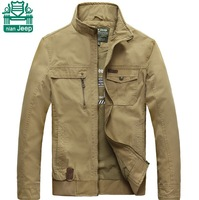 Brand NianJeep 4XL/3XL New Arrival Mens Cotton Slimming Overcoats Spring Trench Double Breast Fitness Jackets & Outwears Man