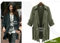 European fashion Plus Sizes womens Blazers Casual Fake Clothing High quality 6x 5x xxxxxl xxxxl army green d blue 16431910633
