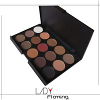 2015 Wholesale 3 Style 15 Earth Color Matte Pigment Eyeshadow Makeup Palette Cosmetic Eye Shadow for women make up free shipping