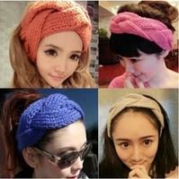 Handmade Knitting  Headband, Alice band, crochet hair ribbon women