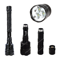 TrustFire 3x CREE XM-L XML T6 LED 3800LM 5 Mode Extended Flashlight Torch  ON0329