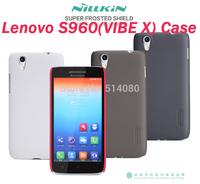 Lenovo S960(VIBE X) case NILLKIN super frosted shield case for Lenovo S960(VIBE X) free shipping