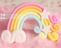 Free shipping! very hot and kawaii polymer clay candy for DIY phone decoration 20pcs 55*38mm