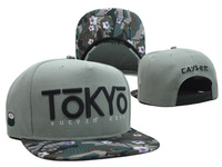 2014 new 1 pcs cute japan letters gray/flower adjustable baseball snapback hats and caps for men/women sports hip hop headwear