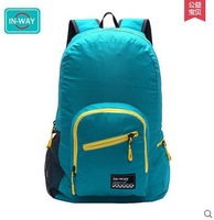 Free Shipping 5 colors man and woman collapsible outdoors backpack camping bag  foldable sports Hiking bag waterproof