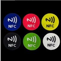 6 pcs Universal Smart NFC Tags Sticker Ntag203 for Sony Samsung Note3 Galaxy S4 Lumia920 Nexus4/10 BlackBerry HTC free shipping