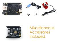 BB BeagleBone Black ARM Cortex A8 Rev C Development Board 4GB eMMC + MISC Cape + USB WIFI + Camera = Package E