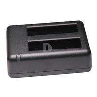 Super Mini Dual Slot Gopro Hero4 Battery Charger USB Dual Double Charger for Gopro Hero 4 Hero4 HD Camera Battery charging
