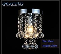 Modern Free Shipping Crystal Chandelier Lustre Lamp , Gracens Luxury Lighting Fixture (GRC-P01 D150mm H230mm)