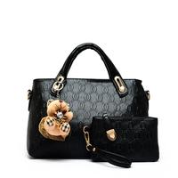 Women's bags 2014 women's handbag autumn and winter bear pendant picture package one shoulder cross-body handbag