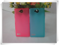 100 pcs/lot ,DHL FREE SHIPPING, High Quality Pudding TPU Case for ZTE Blade G Lux, different colors