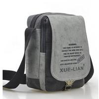 2014 new brand men's fashion canvas bag casual sport bag student school bag Messenger Bag