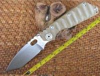 FAST Hong Kong Post  FREE SHIPPING Caving CNC G10 Handle Strider SMF SNG Folding Pocket Knife ST28
