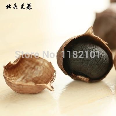 sole head Pure Taste 100 90 Days fermentation black garlic health care Anti cance Hypertension Diabetes