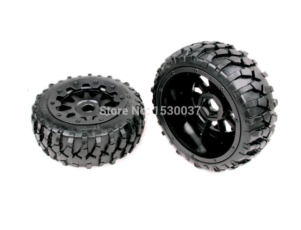 1/5 rc car racing parts,Baja 5B Macadam Front Wheels X 2 tyre with free shipping(China (Mainland))