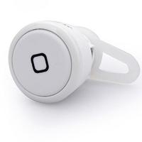 White Wireless Bluetooth V3.0 Headset Hands Free Stereo Music Headphone Mini Mobile Sport Ear Hook Earphone