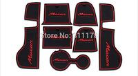Free shipping  Macan 2014 Door Mat Cup Mat Door Tank Pad Non Slip for Macan 2014