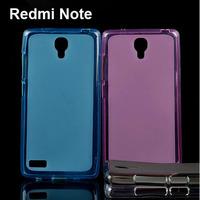 New Xiaomi Redmi Note Case Soft TPU Phone Back Cover For Xiaomi Red Rice Hongmi Note Case 5.5inch Freeshipping