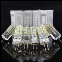 G4 DC12V 3W 5W 6W Silicone LED Bulb Corn Lamp for Chandelier Lamp LED Spotlight Bulb Warm Cold White  Warm White 10pcs/lot