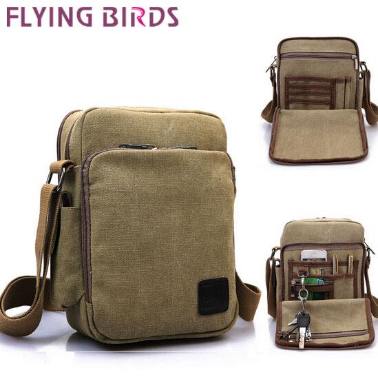 Flying birds! 2015 hot sale canvas men messenger bags famous Outdoor sport shoulder casual bag men's travel bags on sale LM0302(China (Mainland))