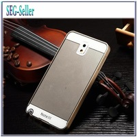 Note3 Ultra thin Aluminum Metal Bumper + PC Back Cover Cases 2in1  for samsung Galaxy Note 3 n9000 bags Surface+Screen Protector