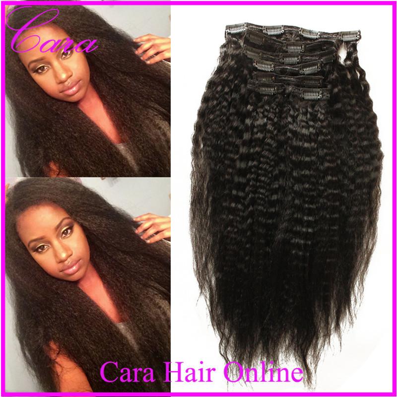 Yaki Clip In 100 Human Hair 23