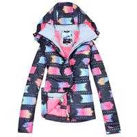 Free Shipping 2014 new women's jackets Gsou snow ski suit female monoboard ski suit waterproof thermal ski suit ski suit