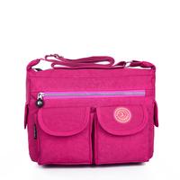 2014 oxford fabric bag large capacity messenger bag big bag casual nylon women's cross-body handbag