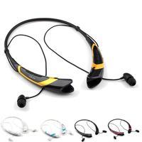 HBS-760 Stereo Bluetooth Earphone Wireless Neckband Style Headphone in-Ear Earbuds Headset for iPhone Samsung Huawei Xiaomi LG