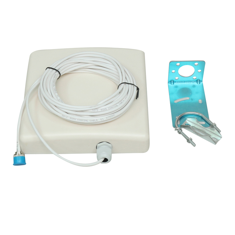 698-2700MHz 10dBi 4G LTE Outdoor directional Panel Antenna with 10M cable for Cell Phone Signal Repeater(China (Mainland))