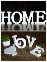 DIY English Letters Home Decoration Wall Stickers  Word Letters 3D Decoration Furnishing Articles DIY Wall Stickers Unique Gift