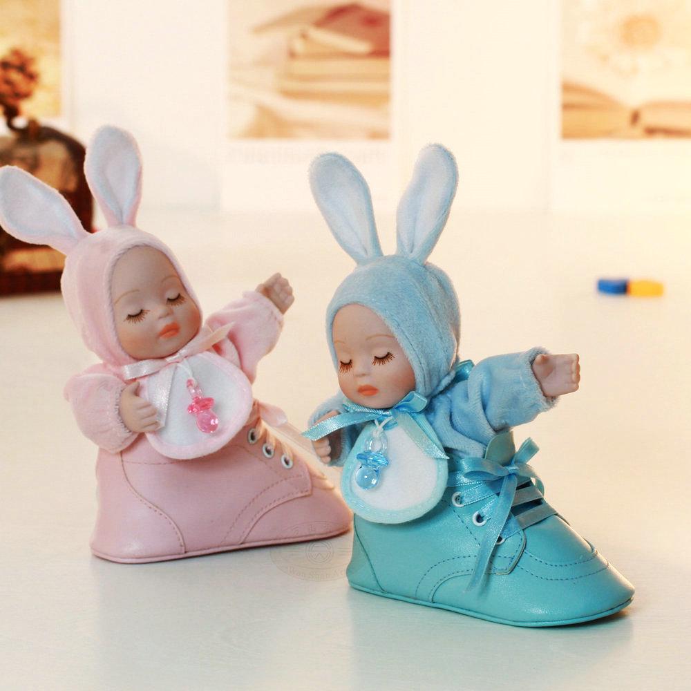 sapatos bobble cabeça da boneca caixa de música criança presente de aniversário(China (Mainland))