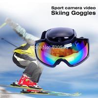 New Mini HD 720P Sport Camera Video Skiing Goggles Camcorder Snow Ski Glasses camera DV DVR Recorder with AVI