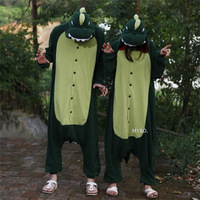 Green Dinosaur Animal Cosplay Adult Costume For Halloween Carnival Party Christmas Adult Onesie Jumpsuit