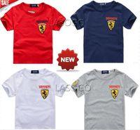 Retail 2015 new arrive brand short sleeves children t shirt 4 color children clothing boys brand t shirt children brand cloth