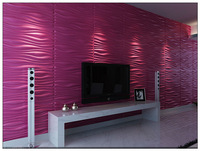 Freeshipping New Arrival Leather Acoustic 3D 4D Panels bedroom living room TV Room  KTV  Meeting Room sofa background for wall