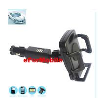 Rotary Mobile Phone Holder Car Holder Car Lighter Charger +Stylus Pen For HTC Desire Eye M910X