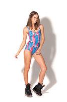 New Swimwear Women 2014 Balck Milk Swimwear Batman Batgirl Bathing Suit One Piece Swimsuit Plus Size Swimming Suit For Women